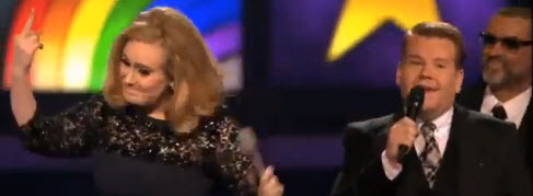 Adele aux Brit Awards