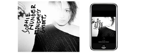 Sophie Hunger sur iphone